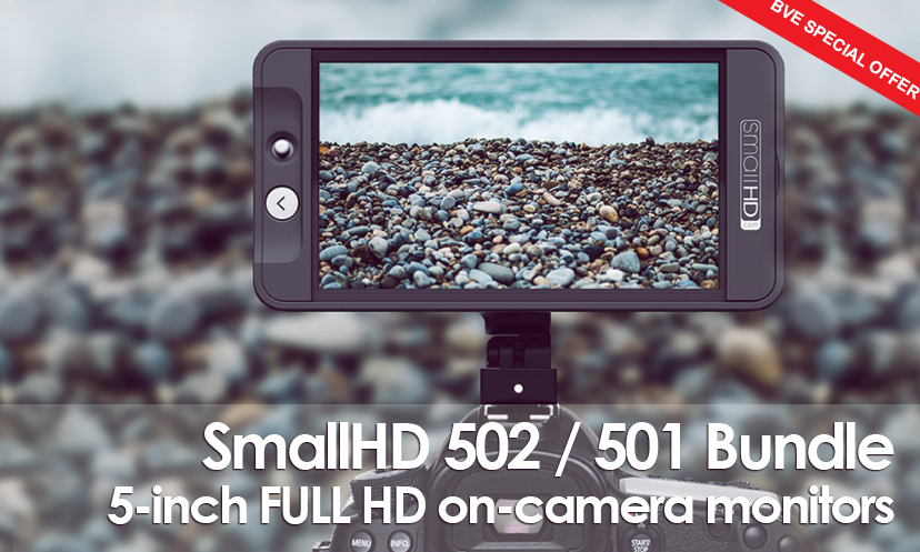 SmallHD 502 Monitor Bundles